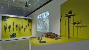 """Blick in den Ausstellungsbereich """"Kultivieren und Achten"""""""