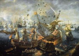 Art 1,Battle_of_Gibraltar_1607