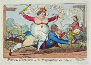 George_Cruikshank__Royal_Hobby_s__1819__Karikaturmuseum_Wilhelm_Busch