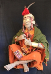 Rekonstruktion der Mumie des Inka Pachacutec, Rekonstruktion und Foto Edilberto Merida Pilares