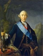 Peter III. gemalt von Lucas Conrad Pfandzelt