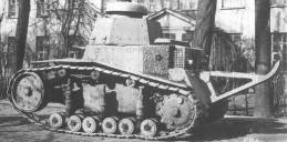 T-16-Panzer (1927), Prototyp des sowjetischen T-18 auch als MK 1 bezeichnet