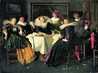 Dirck Hals: Merry Company