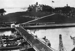 U.S. Naval War College at Newport, Rhode Island (USA), circa 1914