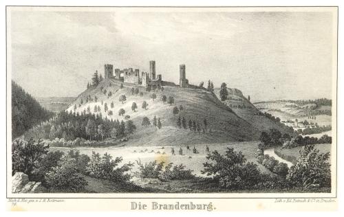 Friedrich von Sydow: Thüringen und der Harz mit ihren Merkwürdigkeiten, Volkssagen und Legenden, 1839. Zeichnung von I.H. Rottmann.