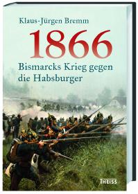 Verlagstext zum Buch: Der Deutsch-Deutsche Krieg 1866 war die Entscheidung im Kampf um die Vorherrschaft zwischen Preußen und Österreich. Höhepunkt des Krieges war der Sieg bei Königgrätz am 3. Juli vor 150 Jahren. Die kühl kalkulierende Realpolitik Bismarcks und das überragende strategische Können Moltkes führten Preußen zum Sieg - so die gängige Sicht. Tatsächlich war der Sieg in Böhmen nicht zwangsläufig. Preußens Triumph bedeutete faktisch die Aufgabe des Traums von der deutschen Einheit. Er ebnete zwar den Weg zum Deutschen Kaiserreich, doch in seiner kleindeutschen Lösung. Klaus-Jürgen Bremm schildert alle Aspekte dieses Krieges: Er untersucht die Vorgeschichte ebenso wie den Weg in die Eskalation und den eigentlichen Schlachtenverlauf; die Kriegführung im Zeichen neuester waffentechnischer Errungenschaften wie auch die Kämpfe auf dem italienischen Kriegsschauplatz. Darüber hinaus zeigt er die Rezeption der Ereignisse in den verschiedenen beteiligten Staaten - Österreich, Deutschland, Italien. Es ist ein Krieg, der die weitere Entwicklung Europas entscheidend beeinflusste. Klaus-Jürgen Bremm: 1866. Bismarcks Krieg gegen die Habsburger. Theiss 2016. Hardcover, 312 Seiten.
