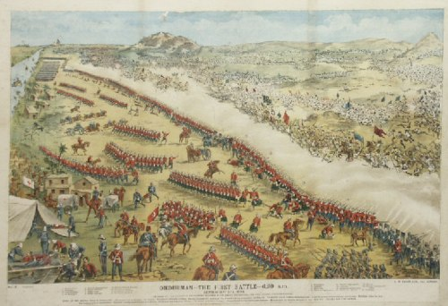 The Battle of Omdurman, 1898