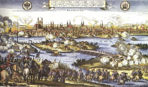 Die Eroberung und Plünderung Magdeburgs 1631