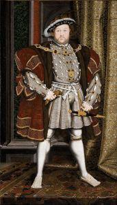 Der englische König Heinrich VIII.